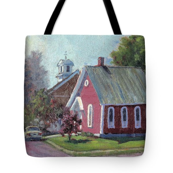 Amherst Chapel Tote Bag
