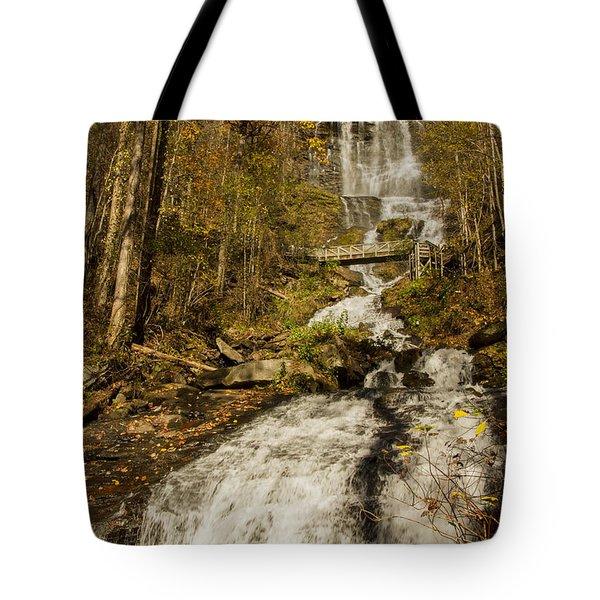 Amicola Falls Gushing Tote Bag