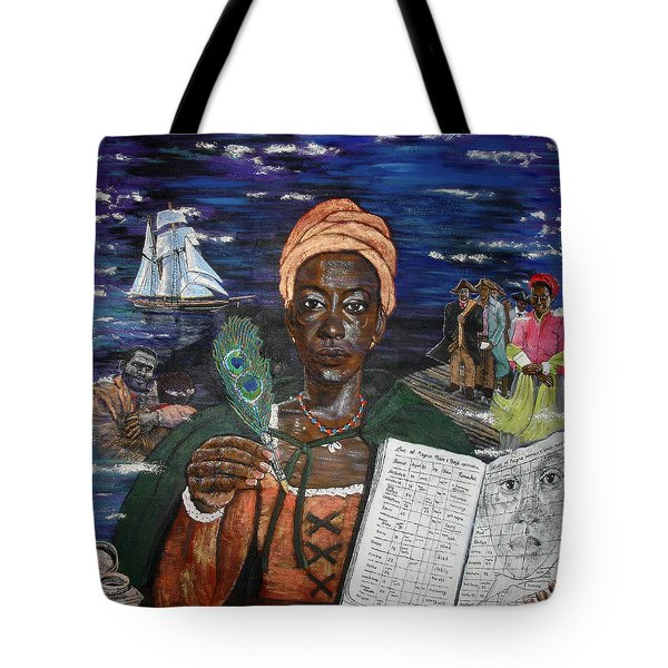 Aminata's Book Of Negroes Tote Bag