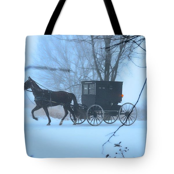 Amish Dreamscape Tote Bag