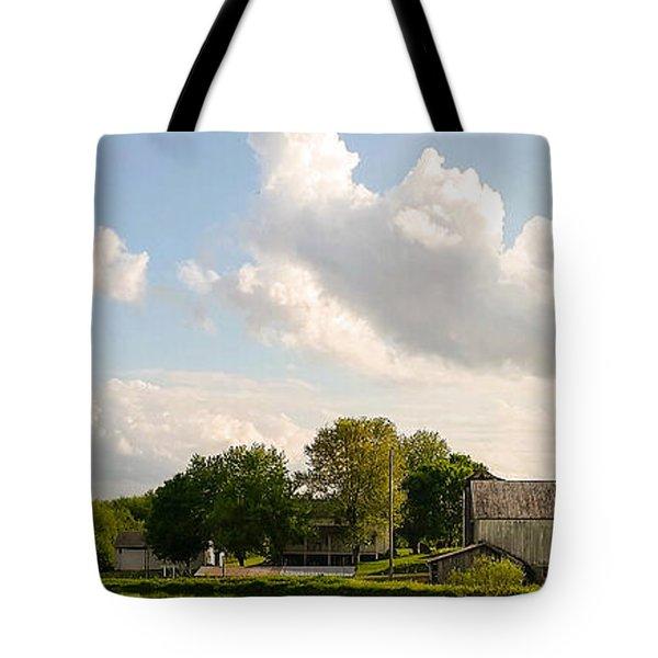 Amish Farm Tote Bag