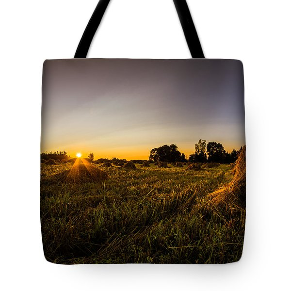 Amish Harvest Tote Bag by Chris Bordeleau