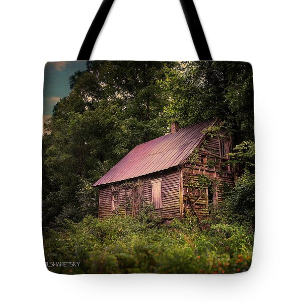 Amish House Tote Bag
