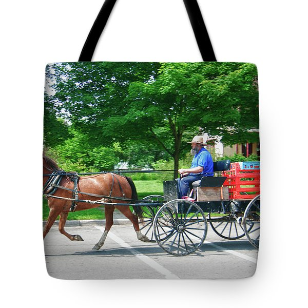 Amish Merchant 5671 Tote Bag by Guy Whiteley