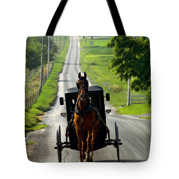 Amish Morning Commute Tote Bag