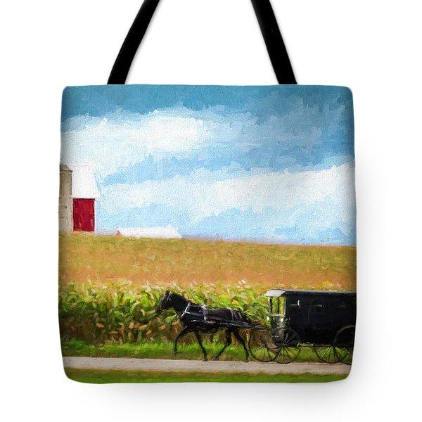 Amish Paradise Tote Bag