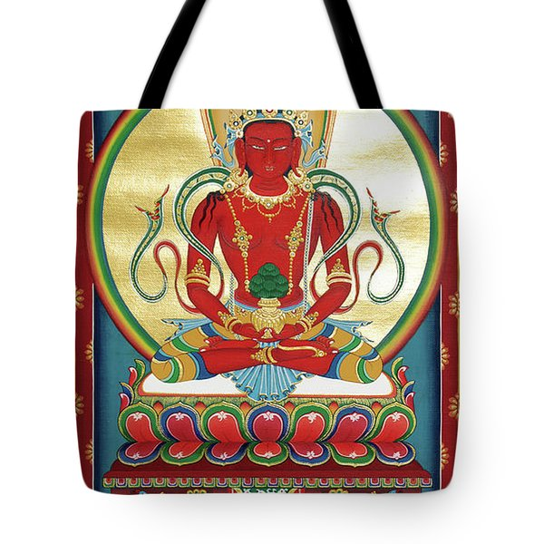 Amitayus Tote Bag