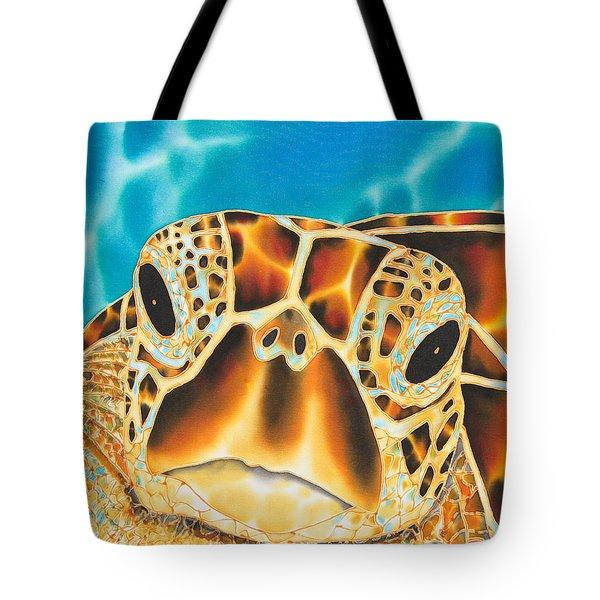 Amitie Sea Turtle Tote Bag