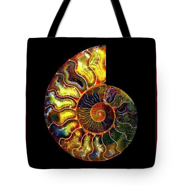 Ammonite Fossil - 8322-3 Tote Bag
