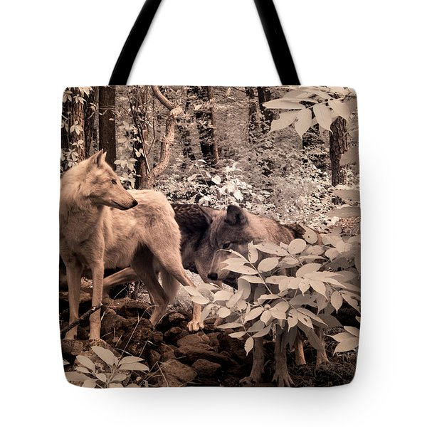 Among Mixed Company Tote Bag