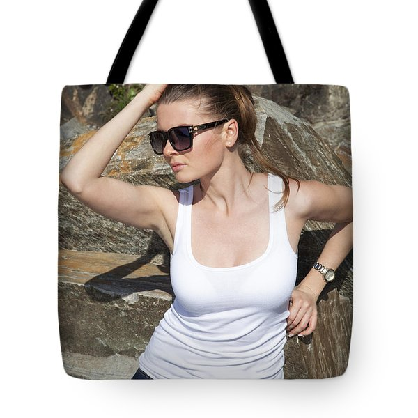 Among Stones Tote Bag