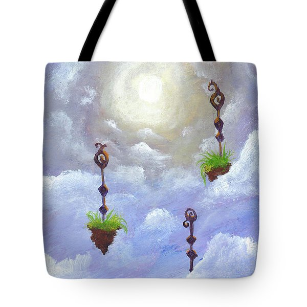 Among The Clouds Tote Bag