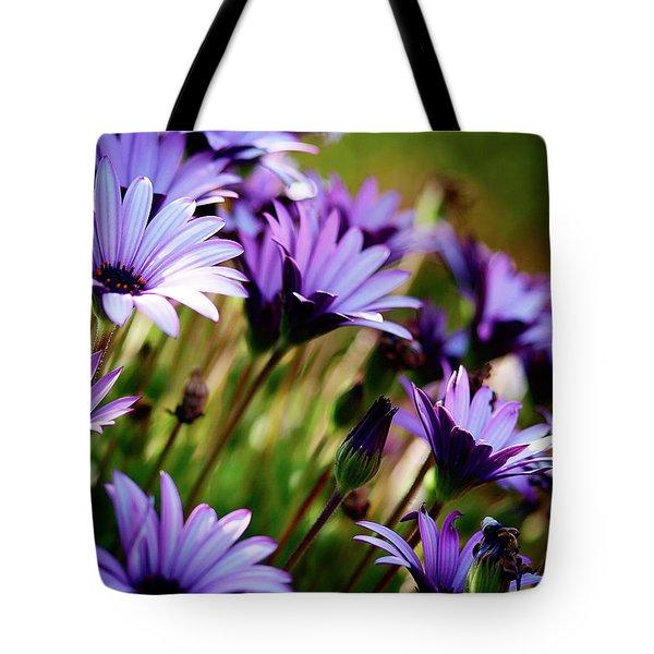 Among The Flowers Tote Bag