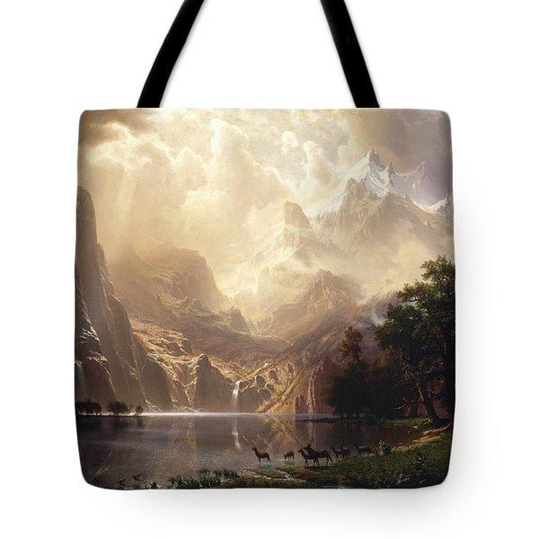 Among The Sierra Nevada Tote Bag