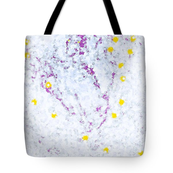 Among The Stars Tote Bag by Yshua The Painter