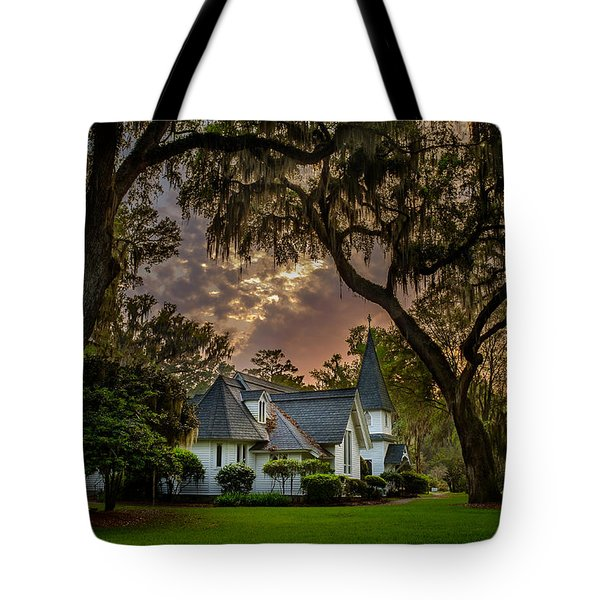 Amongst Mighty Oaks Tote Bag