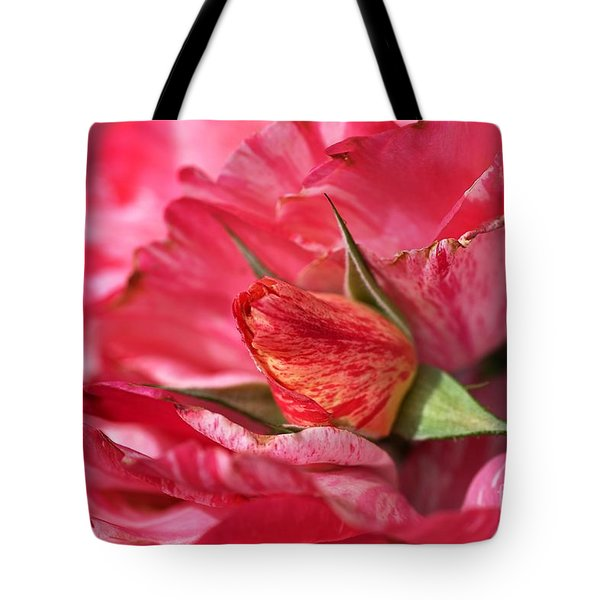 Amongst The Rose Petals Tote Bag