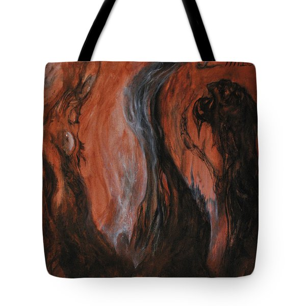 Amongst The Shades Tote Bag by Christophe Ennis