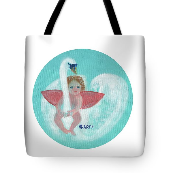 Amorino With Swan Tote Bag