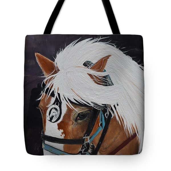 Amos - Haflinger - Horse Tote Bag