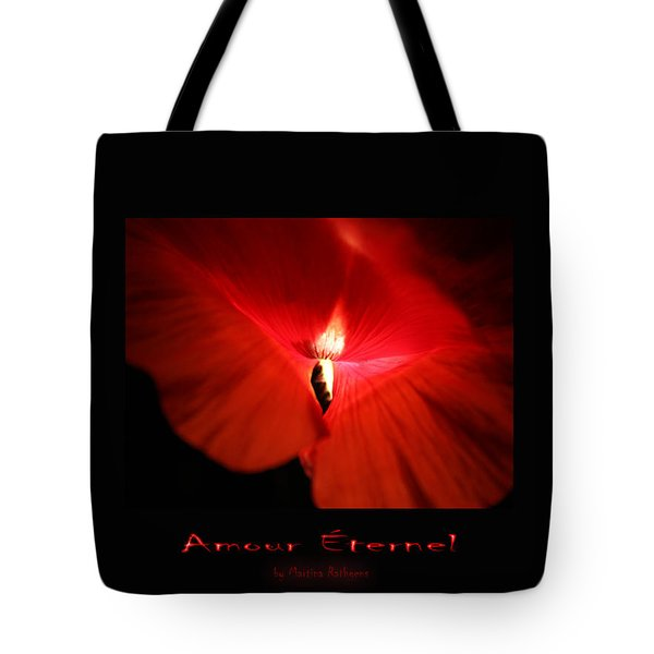 Amour Eternel Tote Bag