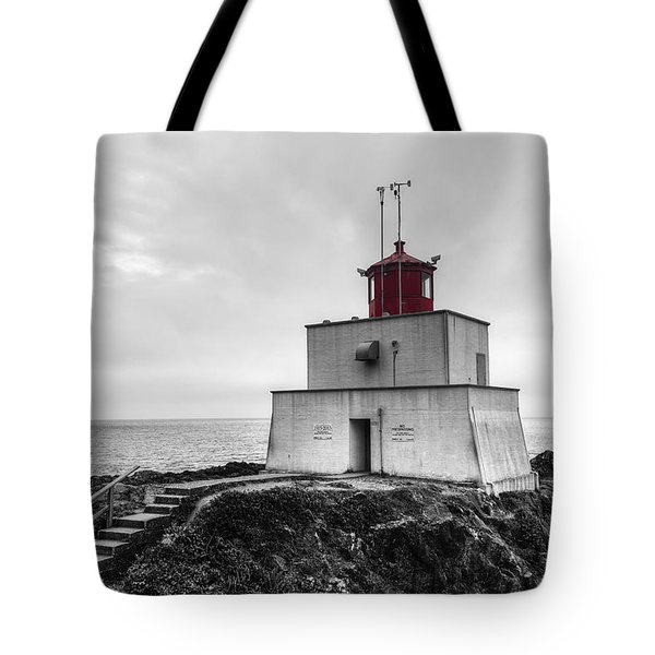 Amphitrite Point Lighthouse Tote Bag