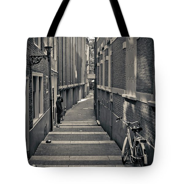 Amsterdam Tote Bag by Adam Romanowicz