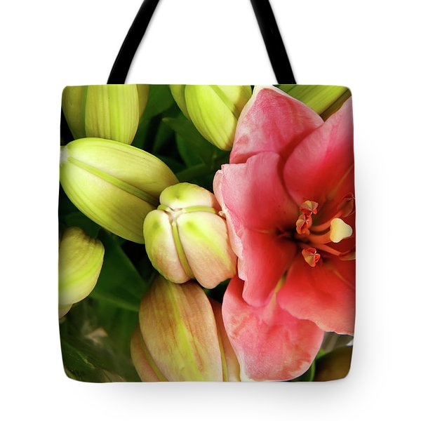 Tote Bag featuring the photograph Amsterdam Buds by KG Thienemann