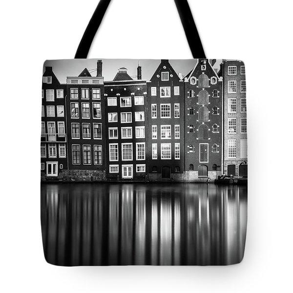 Amsterdam, Damrak II Tote Bag