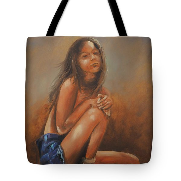 Amsterdam Girl Tote Bag