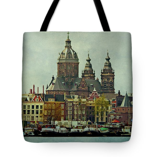 Amsterdam Skyline Tote Bag