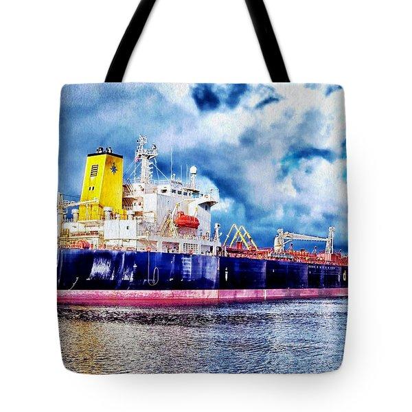 Amsterdam Vessel Tote Bag