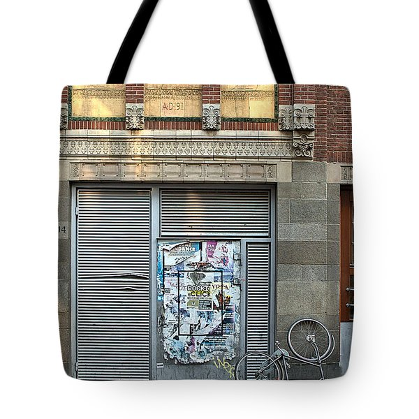 Amsterdam Warmoesstraat Tote Bag by Steven Richman