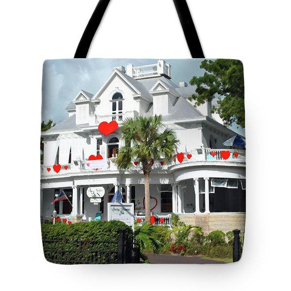 Tote Bag featuring the photograph Amsterdams Curry Mansion Inn by Jost Houk