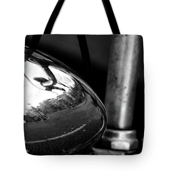 Amsterdam's Reflection Tote Bag by Ana Mireles