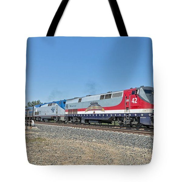 Amtrak 42  Veteran's Special Tote Bag