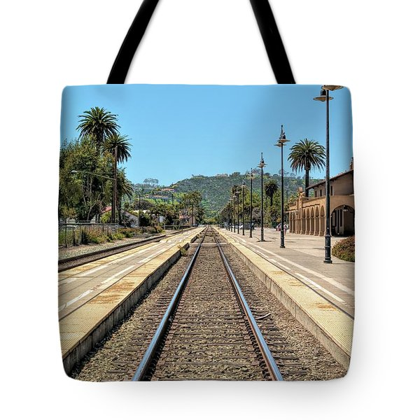 Amtrak Station, Santa Barbara, California Tote Bag