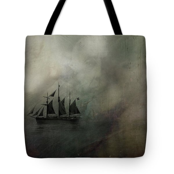 Amundsen And Fram Tote Bag