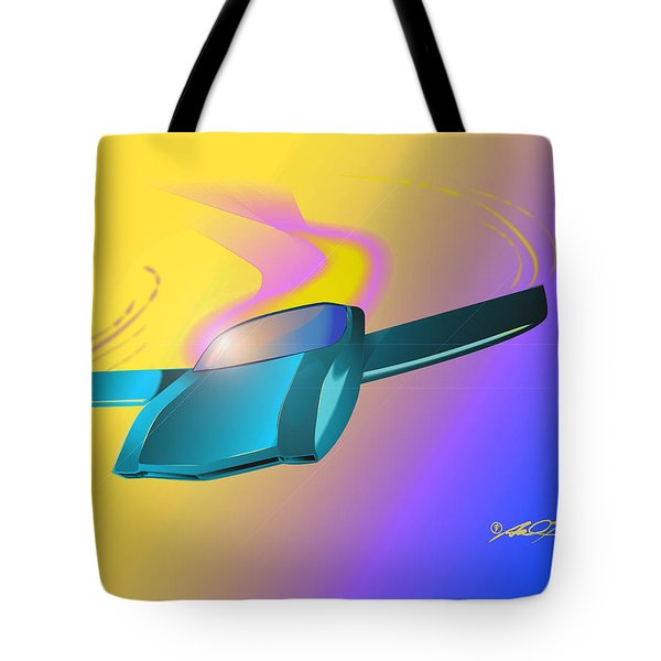 Amx By American Motors Tote Bag