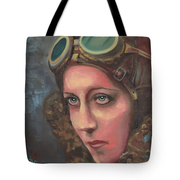 Amy Johnson Tote Bag