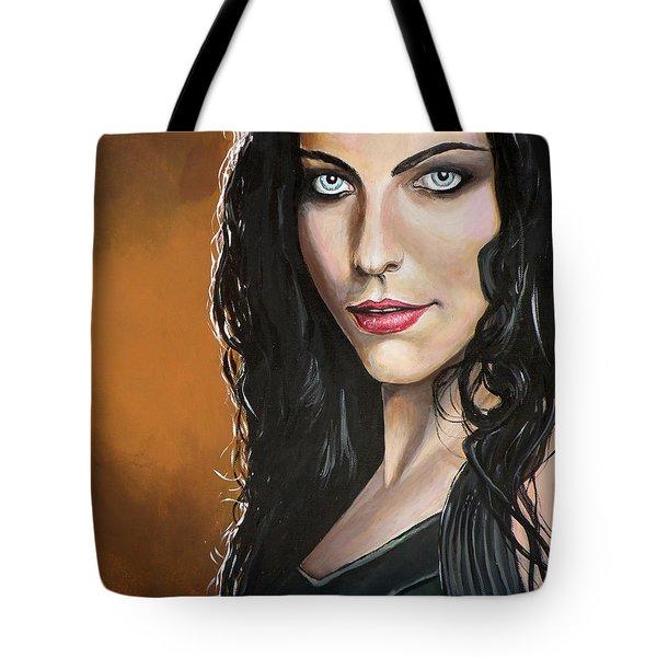 Amy Lee Tote Bag by Tom Carlton