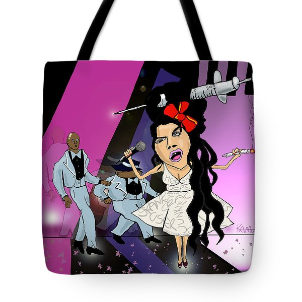 Amy Whinearse Tote Bag
