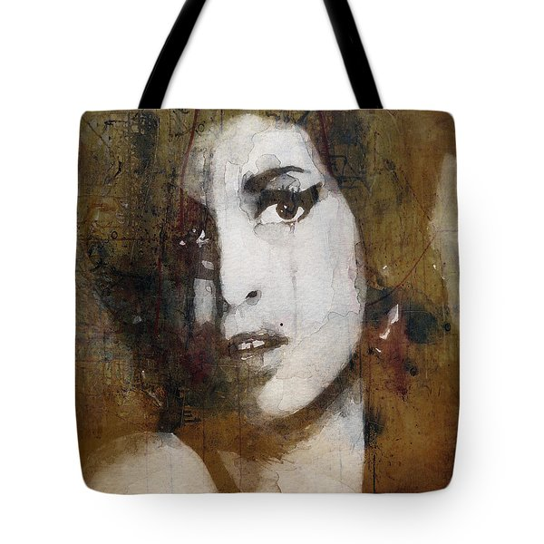 Amy Winehouse Love Is A Losing Game  Tote Bag