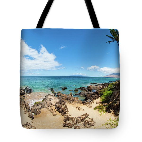 Tote Bag featuring the photograph Amzing Beach In Hawaii Islands by Micah May