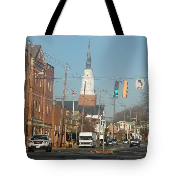 An Aberdeen Afternoon Tote Bag