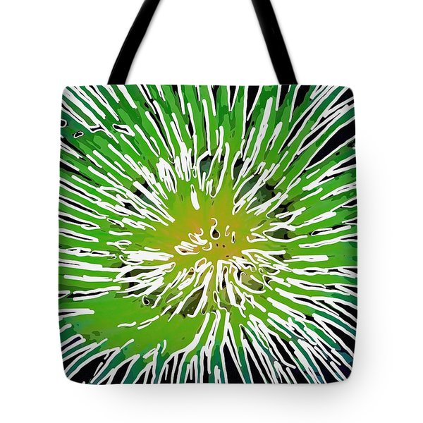 An Abstract Scene Of Sea Anemone 2 Tote Bag by Lanjee Chee