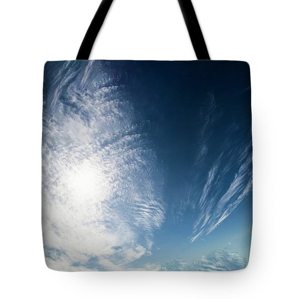 An Abstract Sky Tote Bag