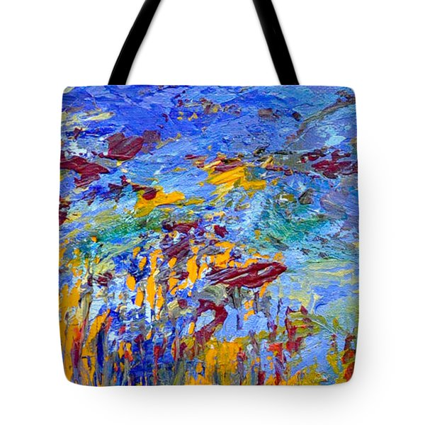 An Abstract Vision Under The Sea Tote Bag