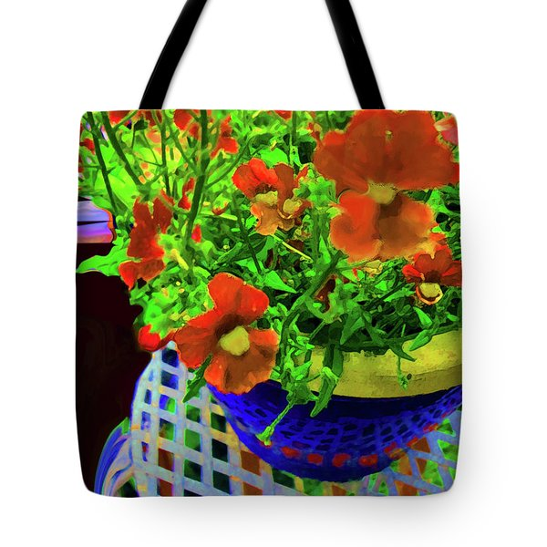 Lots Of Blooms Tote Bag