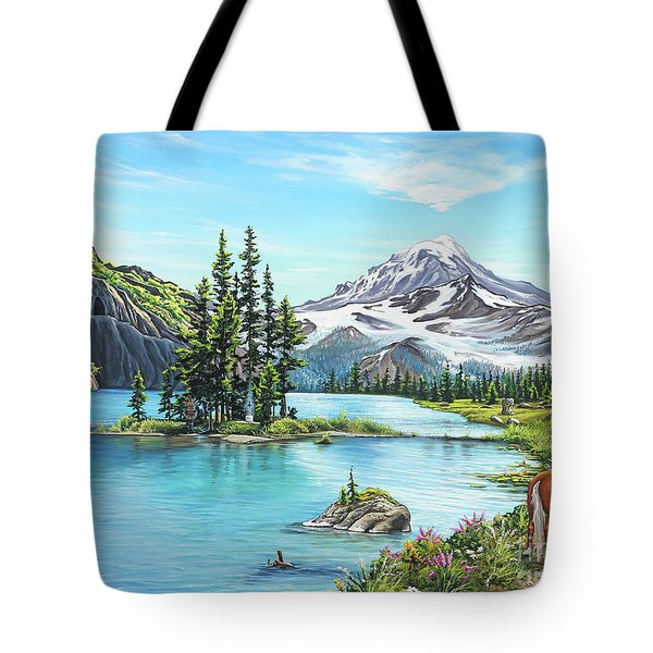 An Afternoon Adventure Tote Bag by Joe Mandrick